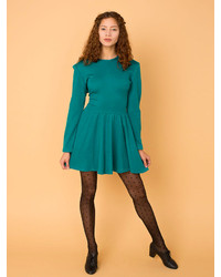 American apparel vintage knit skater dress medium 150939