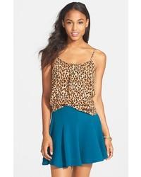 Lush Textured Skater Skirt