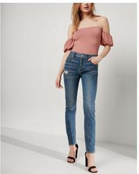 High waisted original vintage skinny ankle jeans medium 5026347