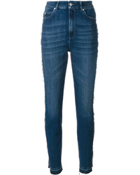 Alexander McQueen Skinny High Waisted Jeans