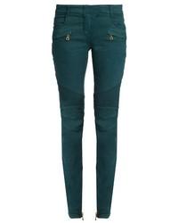 Balmain Skinny Leg Biker Jeans