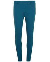 Teal Skinny Pants