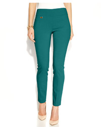 Alfani Petite Tummy Control Skinny Pants Only At Macys