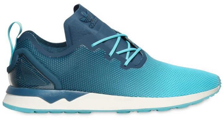 new arrival a35f3 e1961 $96, adidas Zx Flux Racer Asym Nylon Sneakers