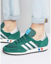 adidas Originals La Sneaker Og In Green Bb2818