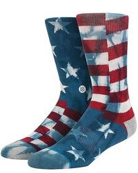 Stance Banner American Flag Cotton Blend Socks