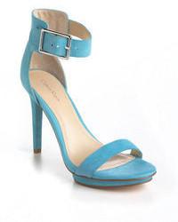 Calvin Klein Vivian Suede Sandals