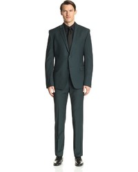Versace Notch Lapel Suit
