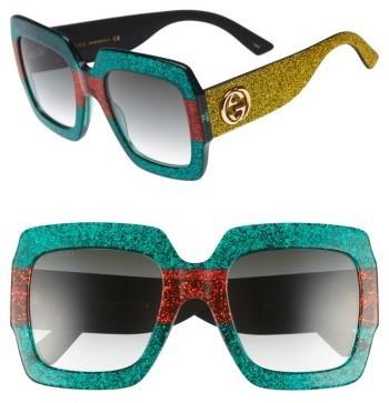 e277e0e98b1 ... Gucci 54mm Square Sunglasses ...