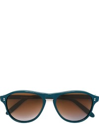 Cutler & Gross Round Shaped Sunglasses