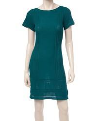 Max studio cap sleeved sweater dress medium 1054388
