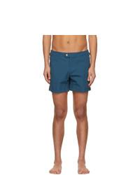 Tom Ford Blue Nylon Swim Shorts