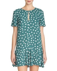 1 STATE 1state Keyhole Swing Dress