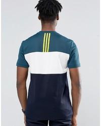 ... adidas Originals Id96 T Shirt In Green Ay9248 ...