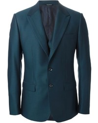 Teal Three Piece Suit
