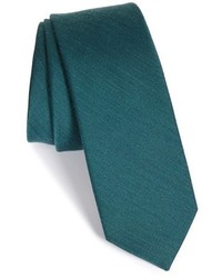 Solid wool silk tie medium 354298