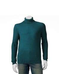 Marc Anthony Classic Fit Solid Cashmere Turtleneck Sweater