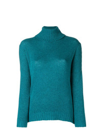 Avant Toi Ribbed Roll Neck Jumper
