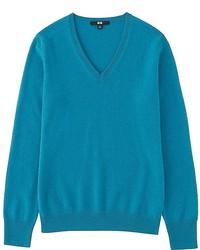 Uniqlo Cashmere V Neck Sweater