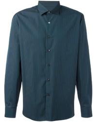 Salvatore Ferragamo Classic Pinstripe Shirt