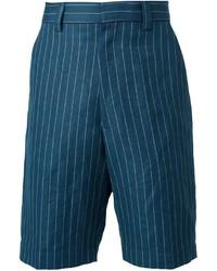 UMIT BENAN Pinstriped Bermuda Shorts