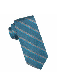 Collection Collection By Michl Strahan Windsor Striped Silk Tie Extra Long