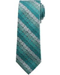 Arrow Pinwheel Striped Tie