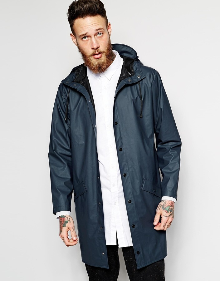 ... Rains Long Waterproof Jacket ... b9dd6e16dc72