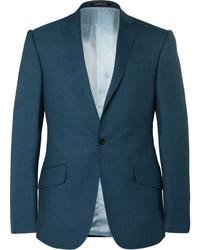 Richard James Petrol Wool Suit Jacket