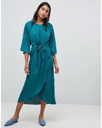 Vila Knot Front Wrap Dress