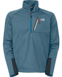 The North Face Canyonlands 12 Zip Asphalt Grey Heather Sweaters