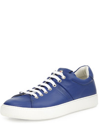 Tenis azules de Moncler