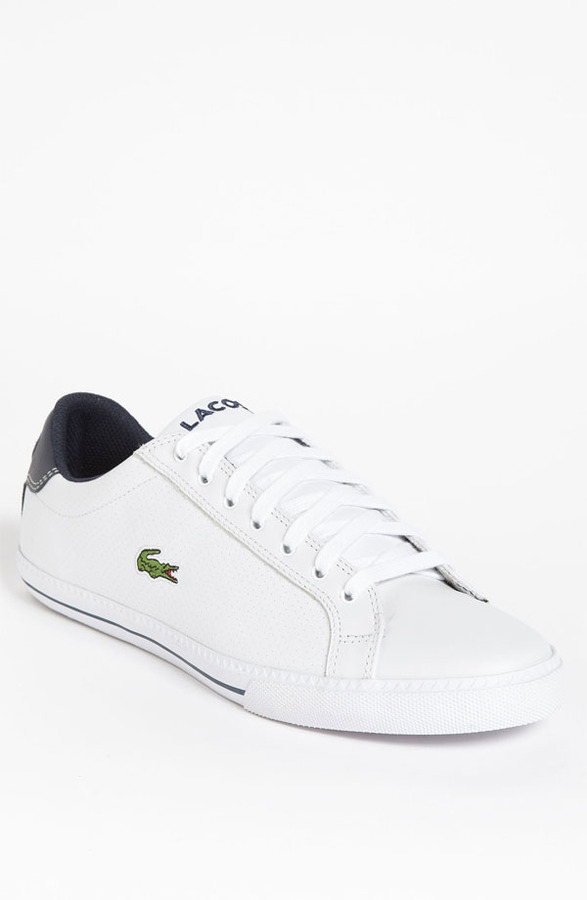 9efaaea78e97b ... Tenis blancos de Lacoste ...