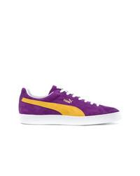 Tenis de ante en violeta de Puma