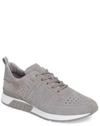 Tenis de ante grises