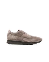 Tenis de ante grises de Santoni