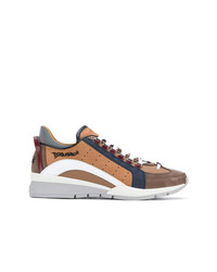 Tenis de ante marrónes de DSQUARED2