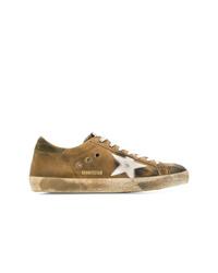 Tenis de ante marrónes de Golden Goose Deluxe Brand