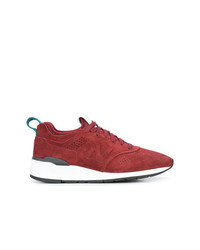 Tenis de ante rojos de New Balance