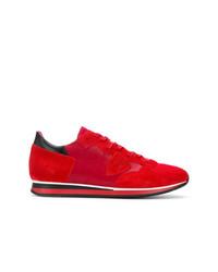 Tenis de ante rojos de Philippe Model