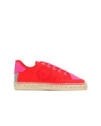 Tenis de ante rojos de Stella McCartney