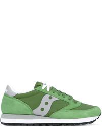 Tenis de ante verdes de Saucony