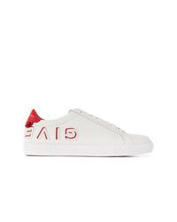 Tenis de cuero blancos de Givenchy