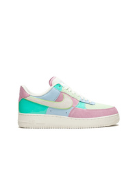 Tenis de cuero en multicolor de Nike