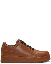 Tenis de cuero marrónes de 3.1 Phillip Lim