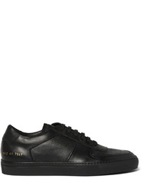 Tenis de cuero negros de Common Projects