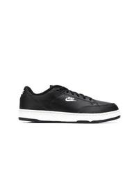 Tenis de cuero negros de Nike