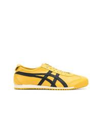 Tenis de lona amarillos