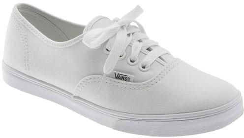 zapatillas vans blancas mujer