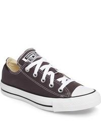 Tenis de lona en gris oscuro de Converse
